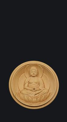 香合仏 釈迦如来坐像